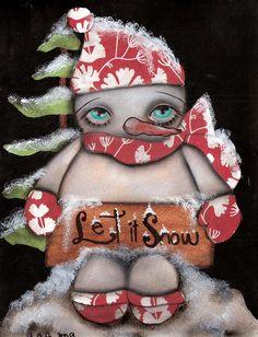 Let it Snow 2 Print $23.00