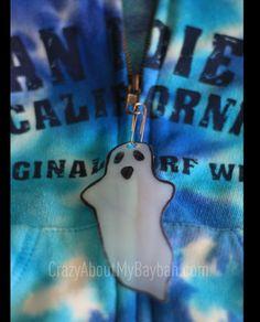 Upcycled Halloween Zipper Pulls | Halloween Craft for Kids #Upcycled #Halloween #Craft