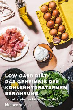 Kohlenhydratarme und fettreiche Ernährung