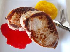 Quick Pork Chops with Sweet and Sour Sauces