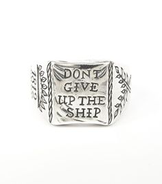 Catbird :: shop by category :: JEWELRY :: Don't Give up the Ship Ring