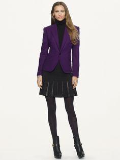 Wool Dabney Jacket - Jackets  Women - RalphLauren.com