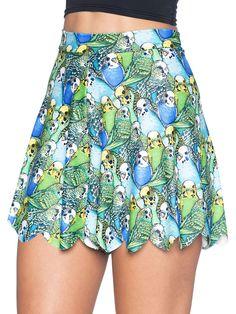 Parrot Cute Shorties - 48HR (AU $50AUD) by Black Milk Clothing