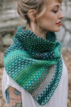 The Shift Knitting pattern by Andrea Mowry