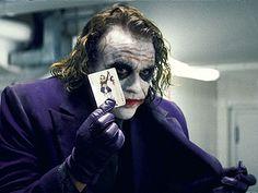 Heath Ledger's best performance.