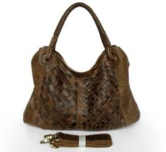 woven leather bag - Google Search