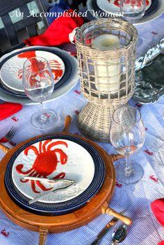 Crab Boil Table