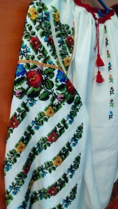Floral Tie, Embroidery Designs, Diy And Crafts, Costumes, Places, Clothing, Collection, Dresses, Fashion