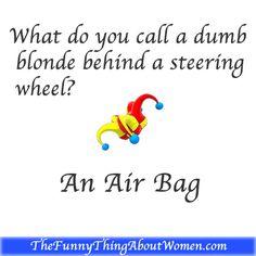 Printable Blonde Jokes 90