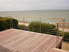 terrasse teck rampe verre - Recherche Google