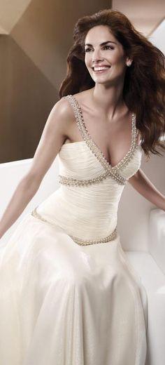 #evening #dresses #elegant #long #dress #formal #white #glam #bride #wedding