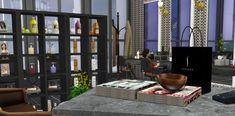 Shelving, Divider, Sims, Room, Furniture, Home Decor, Shelves, Bedroom, Decoration Home