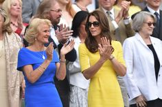 Kate Middleton Photos - Gill Brook (L) and Britain's Catherine, Duchess of Cambridge watch US player Serena Williams play Russia's Elena Vesnina during their women's semi-final match on the eleventh day of the 2016 Wimbledon Championships at The All England Lawn Tennis Club in Wimbledon, southwest London, on July 7, 2016. / AFP / GLYN KIRK / RESTRICTED TO EDITORIAL USE - Day Ten: The Championships - Wimbledon 2016