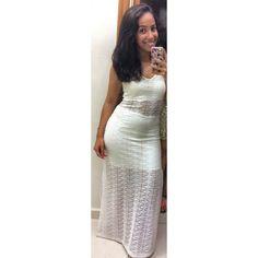 réveillon? #branco #dress
