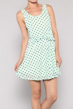 Polka dot dress