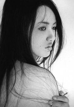Ken Lee - pencil portraits