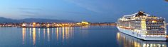 Majorca Reflections with tandom MSC ships