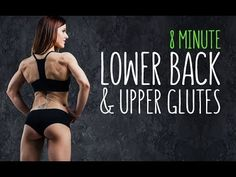 8 Minute Lower Back & Upper Glutes Workout (FAST AND EFFECTIVE!!)