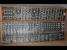 Vintage Synth Demo - Moog System 55 Analog Modular