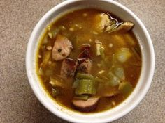 Chicken Sausage Gumbo - Mrs. Criddles Kitchen- Trim Healthy Mama Gumbo!