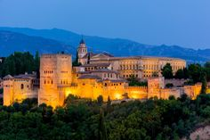 Explore Granada's Alhambra Palace and gardens, where Spain's sultans and kings once walked.