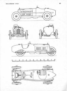 "Alfa-Romeo 8C-2300 ""Monza"" (Prototype parade №204)"