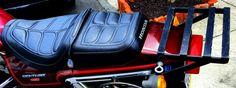 85 Honda Nighthawk 450 Seat & Rack