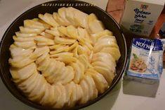 ΜΑΓΕΙΡΙΚΗ ΚΑΙ ΣΥΝΤΑΓΕΣ: Πατάτες στο φούρνο -το κάτι άλλο σε γεύση !!! Cookbook Recipes, Cooking Recipes, Greek Recipes, Food Videos, Nutella, Sweet Potato, Food And Drink, Potatoes, Pie