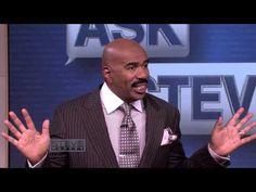 Ask Steve: The Butt Kissing Business Family Feud, Steve Harvey, Twin Boys, Steve, Guys, Dads, Tv Shows, 5 Kids, Olds