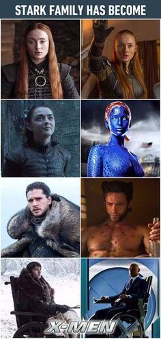 Game of Thrones Winter Is Here, Winter Is Coming, Movie Memes, Movie Tv, Familia Stark, Stark Family, Game Of Thrones, Nerd, Got Memes