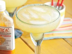 This margarita is spicy and sweet due to Lottie's hot sauce. The combo is pure Barbadian flavor--slow burn, lots of heat, and the fresh flavor of pineapple. Sangria Recipes, Margarita Recipes, Cocktail Recipes, Drink Recipes, Dinner Recipes, Party Drinks, Fun Drinks, Yummy Drinks, Beverages