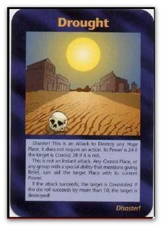 Illuminati Card Drought