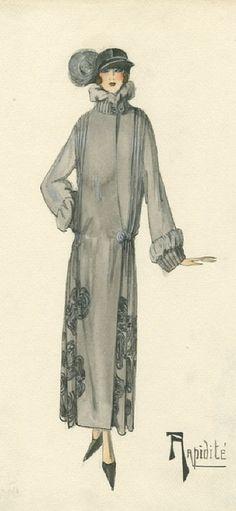 R a p i d i t é  by Maison Bernard, 1923, Unknown artist, Bernard et C.ie, Paris.