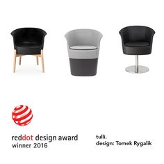 TULLI seating designed by Tomek Rygalik with the Red Dot 2016. The innovative feature and essence of the Tulli system is its precisely shaped ergonomic form which was applied in 2 different ways: to make a complete outdoor chair and a core for the upholstered in indoor version.  #club #hotel #restaurant #events #PublicPlaces #tarrace #garden #ShoppingMall #ConceptStores #retail