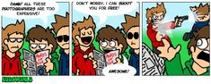 My favorite comic in the world.<<< Don't know where its from but it's funny!