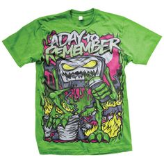 A Day To Remember: Attack Of The Killer B-Sides T-Shirt - Victory Records