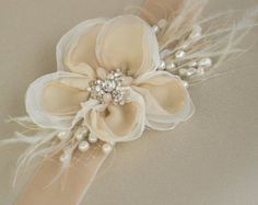 Marco nupcial, boda Champagne, correa de vestido de novia flor, correa del marco nupcial, correa flores, cinturón de terciopelo, Blush rosa champagne perla marco