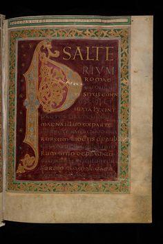 St. Gallen, Stiftsbibliothek, Cod. Sang. 23, p. 27   Flickr - Photo Sharing!