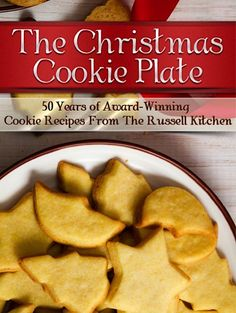 FREE e-Cookbook: The Christmas Cookie Plate! #cookie #recipes