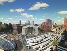 Markthal, eine neue Lebenserfahrung in Rotterdam