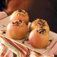 Baked Apples on the Grill Recipe