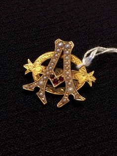 Alpha Phi Badge - 1896 - Alpha Chapter (Syracuse). Owned by ML Coon.