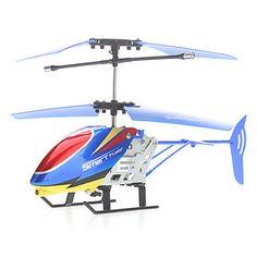 2 canais helicóptero de controle remoto com iphone4 remoto estilo (4 botão ser incluídos) – BRL R$ 34,88
