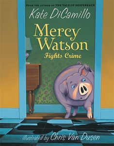 Leroy Ninker is a small man with a big dream: he wants to be a cowboy, but for now he's just a thief. In fact, Leroy is robbing the Watsons' kitchen right this minute! But little does he know that a certain pig who loves toast with a great deal of butter is stirring from sleep... Nosy neighbors, astonished firemen, a puzzled policeman, and the ever-doting Watsons return for another hilarious adventure. HC 9780763625900 / PB 9780763649524 / Ages 6-8 yrs / GRL K