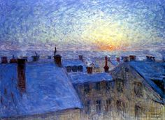 Sunrise, Stockholm - Eugène Jansson