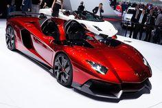 #Lamborghini Aventador J