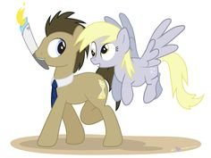 Doctor Whooves and the Olympic Torch by dm29.deviantart.com on @DeviantArt
