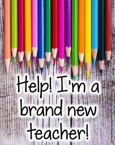Help! I'm a Brand New Teacher- advice & tips for your first year of teaching #backtoschool #teachers