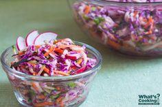 Zucchini Coleslaw #veggies #MyPlate #WhatsCooking