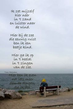 Gedicht Toon Hermans over de zee